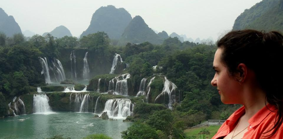Spectacular Ban Gioc Falls on the border of Vietnam and China